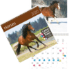 Calendrier mural Chevaux 2020