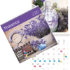 Calendrier mural Provence 2020