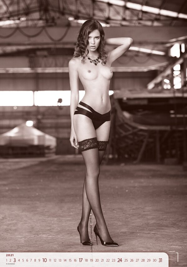 Calendrier pin-up Women Exclusive 2021 Janvier