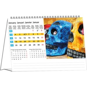 Calendrier de bureau Colours of Travel 2021 Janvier