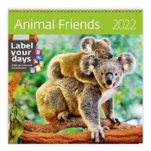 Calendrier mural Animal Friends 2022