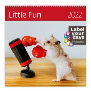 Calendrier mural Little Fun 2022