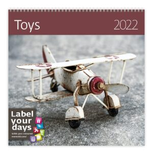 Calendrier mural Toys 2022