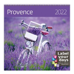 Calendrier mural Provence 2022