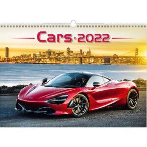 Calendrier mural Cars 2022