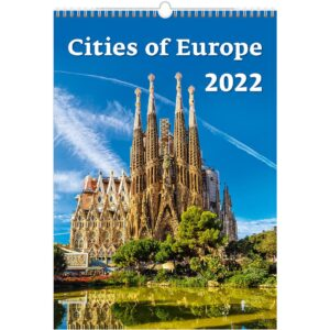 Calendrier mural Cities of Europe 2022