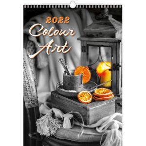 Calendrier mural Colour Art 2022
