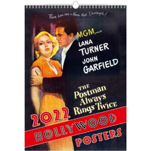 Calendrier mural Hollywood Posters 2022