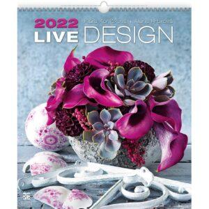 Calendrier mural Live Design 2022