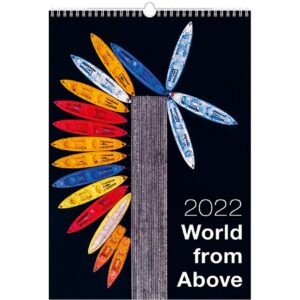 Calendrier mural World from Above 2022