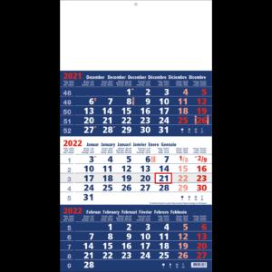Calendrier trimestriel 2022 Focus