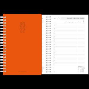 Agenda Daily wire-o Orange 2022