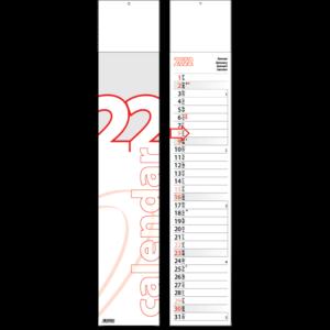 Calendrier languette Midi 2022