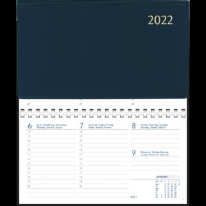 Novoplan spirale 2022 Bleu
