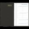 Visuplan relié 2022 Noir