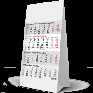Calendrier de bureau 4 mois 2022
