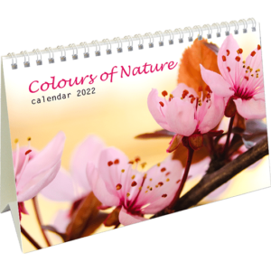 Calendrier de bureau Colours of Nature 2022